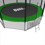 БАТУТ UNIX 10 FT OUTSIDE (GREEN) фото 4