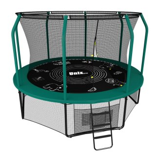 фото Батут UNIX line SUPREME GAME 10 ft (green)